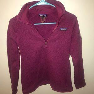 Patagonia Better Sweater 1/4 Zip Pull On Fleece